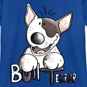 Funny Bull Terrier - Dog - Dogs Shirts - Teenage T-shirt