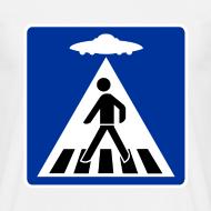 Motif ~ Tee shirt UFO piéton