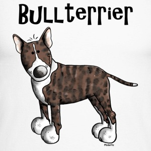 Mignon Bull Terrier - Chien - Chiens Manches longues - T-shirt baseball manches longues Homme