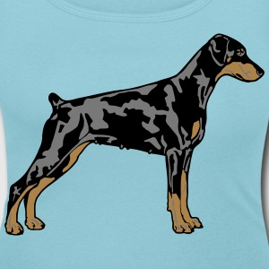 Dobermann Pinscher Dog T-Shirts - Women's Scoop Neck T-Shirt