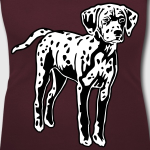 Dalmatian Dog Puppy T-Shirts - Women's Scoop Neck T-Shirt