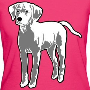 Dog Puppy T-shirts - Ekologisk T-shirt dam