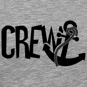 Crew anchor sailor T-Shirts - Men's Premium T-Shirt