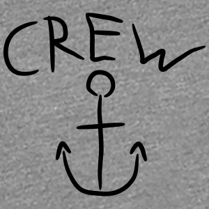 Crew Anchor Comic Logo T-Shirts - Women's Premium T-Shirt