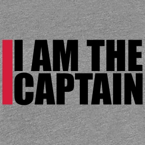 Cool I am the Captain Logo Design T-Shirts - Women's Premium T-Shirt