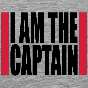 Cool I am the Captain Design T-Shirts - Men's Premium T-Shirt