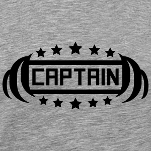 Captain Hero Logo T-shirts - Herre premium T-shirt