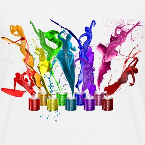 Danse de peintures - 9 couleurs