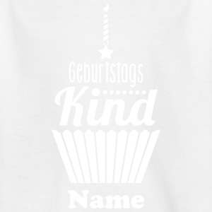 Geburtstagskind Typo - Happy Birthday - 1C T-Shirts - Teenager T-Shirt