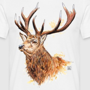 SM Hirsch | stag T-Shirts - T-shirt Homme