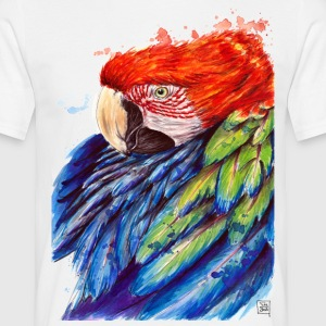 SM Papagei | macaw T-Shirts - T-shirt Homme