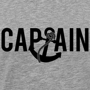 Capitaine ancre Logo Tee shirts - T-shirt Premium Homme