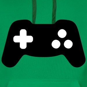Controller, Gamepad, Gamer Sweat-shirts - Sweat-shirt à capuche Premium pour hommes