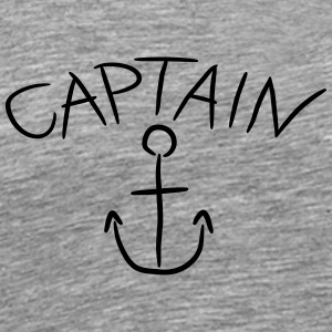 Capitaine ancre Comic Logo Tee shirts - T-shirt Premium Homme