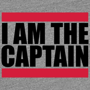 I am the Captain Logo Design T-Shirts - Women's Premium T-Shirt
