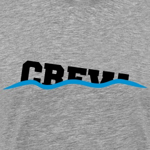 Crew drown decline sinking shafts T-Shirts - Men's Premium T-Shirt