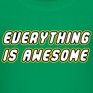 EVERYTHING IS AWESOME Shirts - Teenage Premium T-Shirt