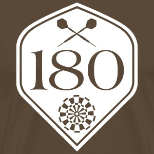 Darts 180 Flight T-Shirts - Men's Premium T-Shirt