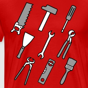 Comic Tools T-shirts - Herre premium T-shirt
