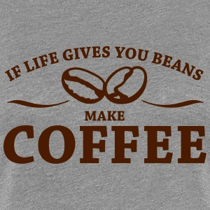 Coffee, Mädels - Frauen Premium T-Shirt