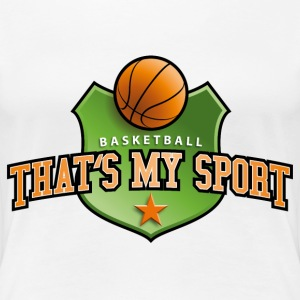 basket_ball_my_sport_07201401 T-Shirts - Frauen Premium T-Shirt