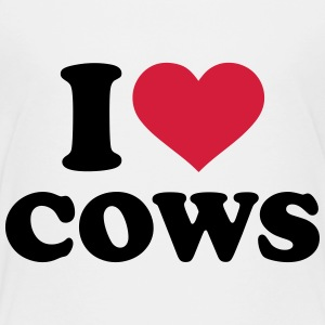 I love Cows T-Shirts - Kinder Premium T-Shirt