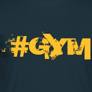 #GYM - Bodybuilding, Fitness, Crossfit  T-shirts - Mannen T-shirt