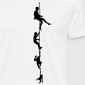Evolution Klatring Rope T-shirts - Herre premium T-shirt