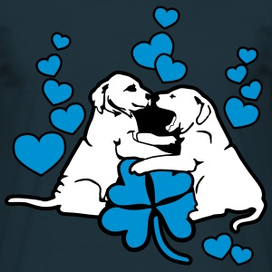 Dog Puppy Love Luck Tee shirts - T-shirt Homme