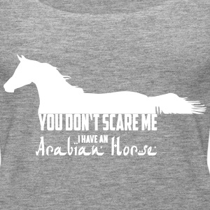 You don't scare me - Arabian Horse Tops - Women's Premium Tank Top