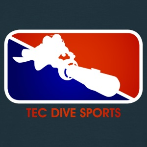 TEC DIVE SPORTS - Männer T-Shirt