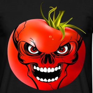 tomato skull Tee shirts - T-shirt Homme