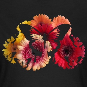 flowers butterfly T-Shirts - Women's T-Shirt