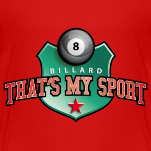 billard_my_sport_07201401 T-Shirts - Teenager Premium T-Shirt