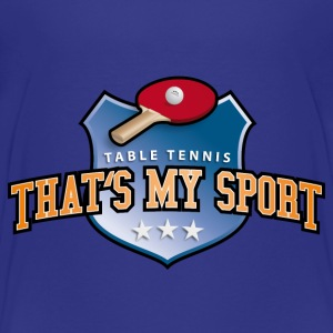 table_tennis_my_sport_07201402 T-Shirts - Teenager Premium T-Shirt