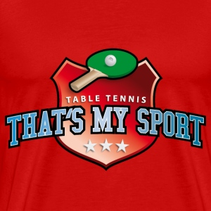 table_tennis_my_sport_07201403 T-Shirts - Männer Premium T-Shirt