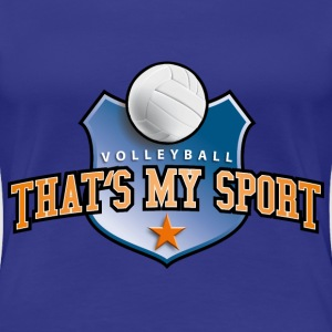 volleyball_my_sport_07201402 T-Shirts - Frauen Premium T-Shirt