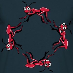 Ant insect grappige grappige dieren T-shirts - Mannen T-shirt