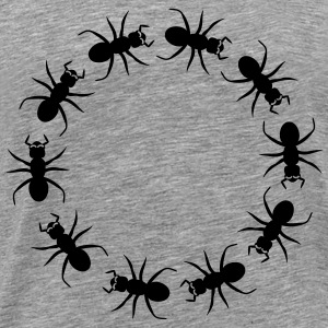 Ant insect district T-shirts - Mannen Premium T-shirt