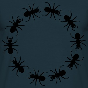 Ant insect district T-shirts - Mannen T-shirt