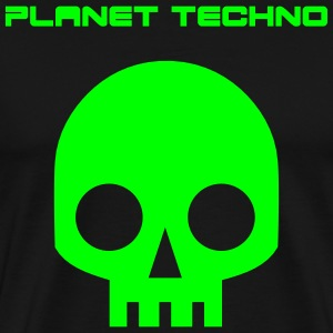 planet techno mens t-shirt - Men's Premium T-Shirt