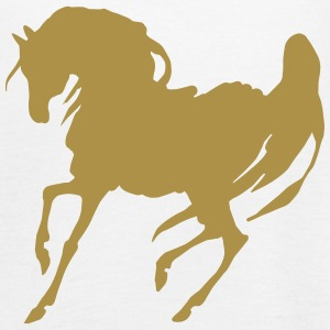 Golden stallion - Frauen Tank Top von Bella