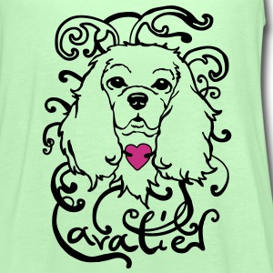 ornamental Cavalier King Charles Spaniel  Tops - Vrouwen tank top van Bella