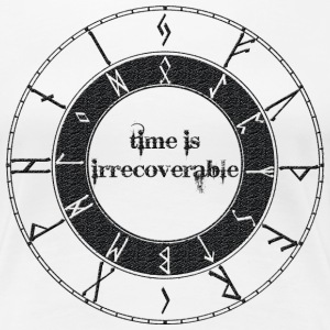 Time is irrecoverable - Frauen Premium T-Shirt