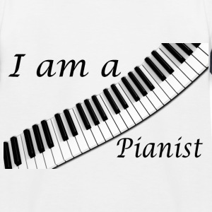 Pianist - Kinder Baseball T-Shirt