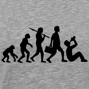Born to Drink Evolution Design T-Shirts - Männer Premium T-Shirt
