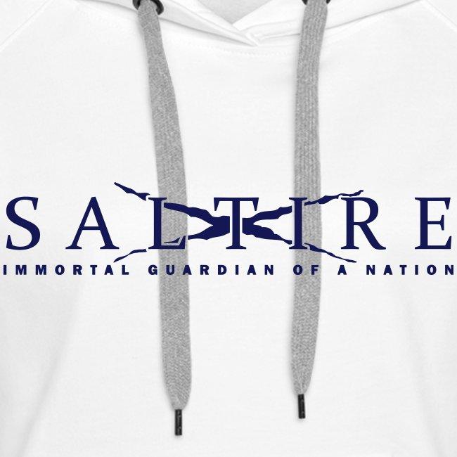 Saltire logo Hoodie Womens