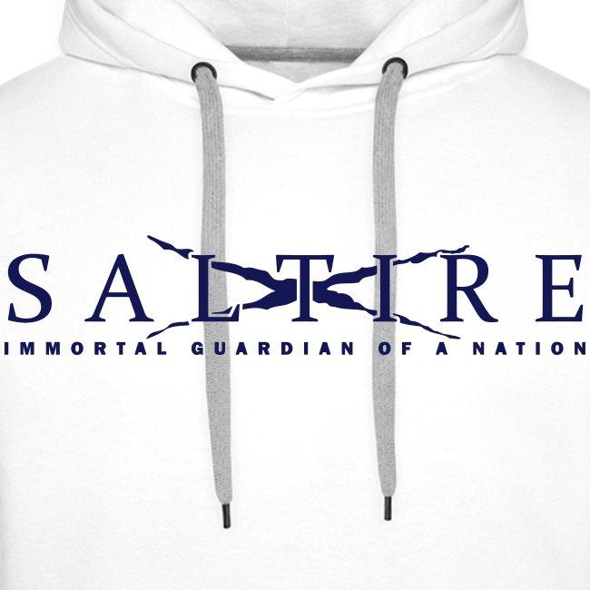 Saltire Logo Hoodie Mens