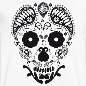 Skull decorative T-Shirts - Men's V-Neck T-Shirt