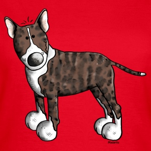 Cute Bull Terrier - Dog T-Shirts - Women's T-Shirt